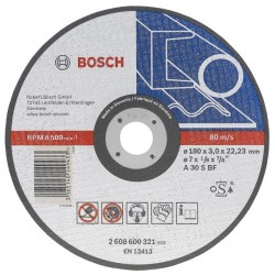 BOSCH TARCZA DO METALU 125*2,5*22