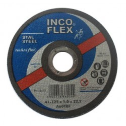 INCOFLEX TARCZA DO CIECIA METALU 125 x 1.0 x 22,2mm