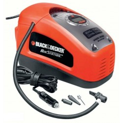 BLACK+DECKER KOMPRESOR / SPRĘŻARKA MINI 12V / 230V 11BAR