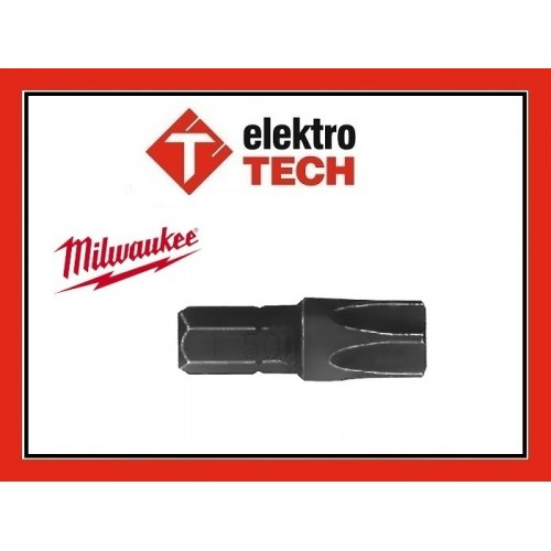 MILWAUKEE Bit TORX TX50 25mm UDAR ShockWave