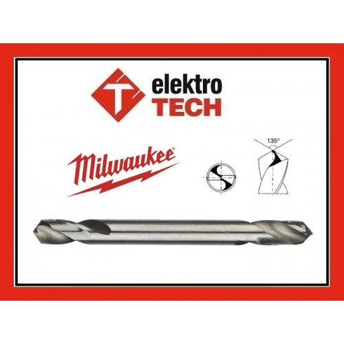 MILWAUKEE WIERTŁO DWUSTRONNE 6,0 mm METAL KAROSERIA